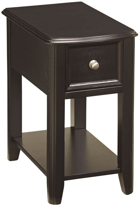 Chair Side Tables With Storage by Chairside End Program Chair Side Black End Table From