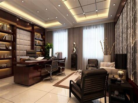 Modern Bank Interior Design, Modern Office Cabin Interior