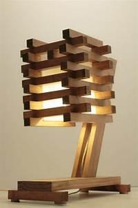Stehlampe Aus Holz : diy lampe 76 super coole bastelideen dazu ~ Indierocktalk.com Haus und Dekorationen