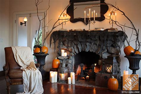 Halloween Decorations For The Mantel From Love Manor