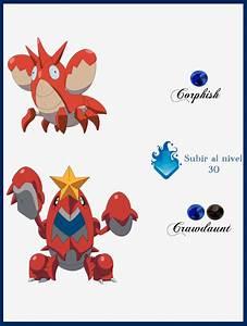 Pokemon Corphish Evolution Images | Pokemon Images
