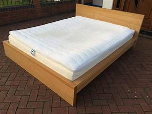Topper 160x200 Ikea : ikea malm 160x200 king size bed with mattress and topper free delivery wednesbury wolverhampton ~ Orissabook.com Haus und Dekorationen