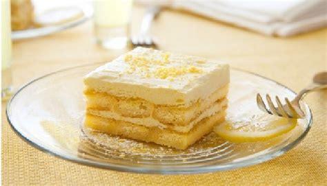 voici comment pr 233 parer un dessert au citron et aux biscuits une recette sans cuisson
