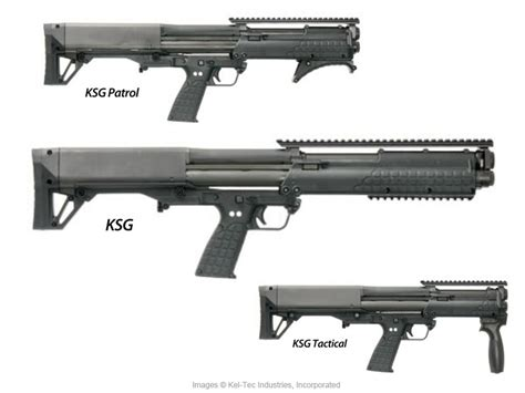 Kel-Tec KSG Pump-Action Bullpup Shotgun - United States