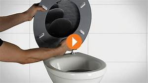 Wc Sitz Schwarz : wc sitz montieren erkl rvideo obi ~ Yasmunasinghe.com Haus und Dekorationen