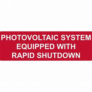 Solar Label  Reflective  Photovoltaic System   Rapid