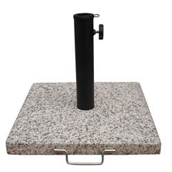 shop garden treasures speckled beige patio umbrella base