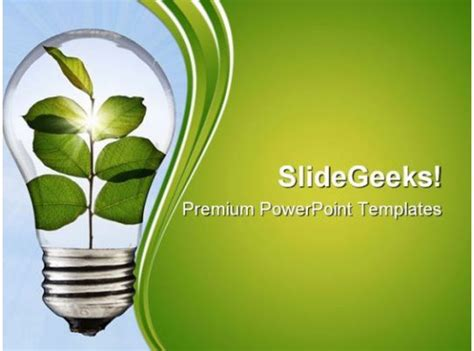 green environment powerpoint templates  powerpoint