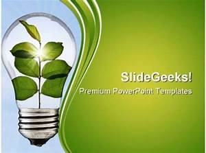 Go Green Environment Powerpoint Templates And Powerpoint
