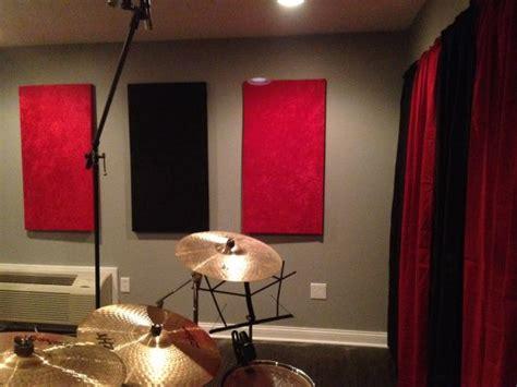 Sound Deadening Curtains Diy by Diy Soundproof Panels Crafty Pinterest