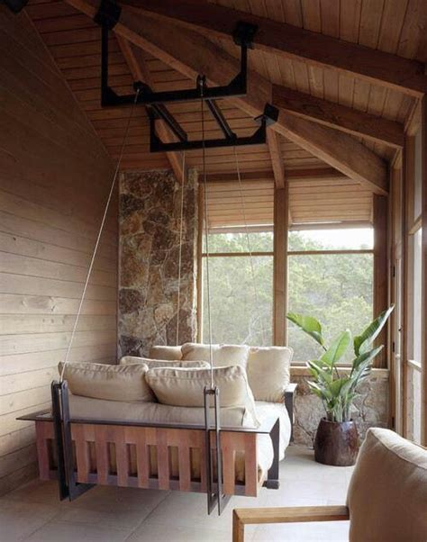 relaxing outdoor hanging beds   home digsdigs