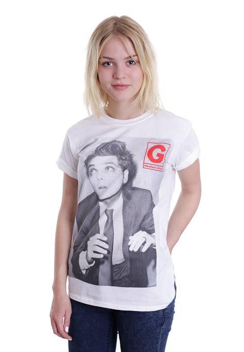 A G E The Arrival gerard way arrival white t shirt offizieller pop