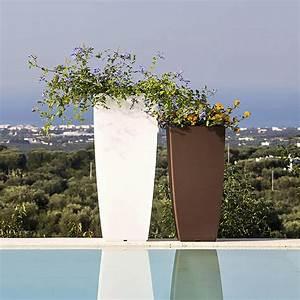 Blumentopf 70 Cm : pflanzentopf pflanzk bel blumentopf eckig kunststoff italy violett 33x33 cm h70 ebay ~ Whattoseeinmadrid.com Haus und Dekorationen