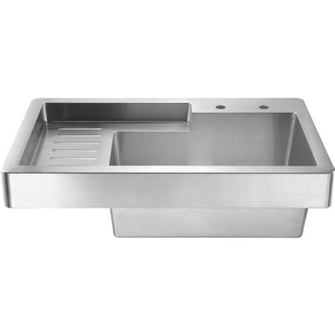 utility sink with drainboard freestanding whitehaus pearlhaus 33 utility sink with drainboard