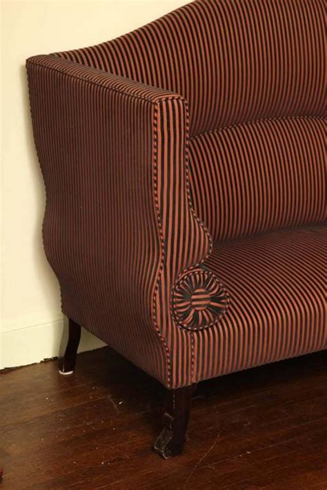 High Back Settee Sale by Regency High Back Settee For Sale At 1stdibs