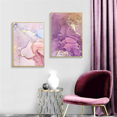 Next day delivery and free returns available. Pink Rose Gold Marble Wall Art Modern Elegant Fine Art Canvas Prints - NordicWallArt.com