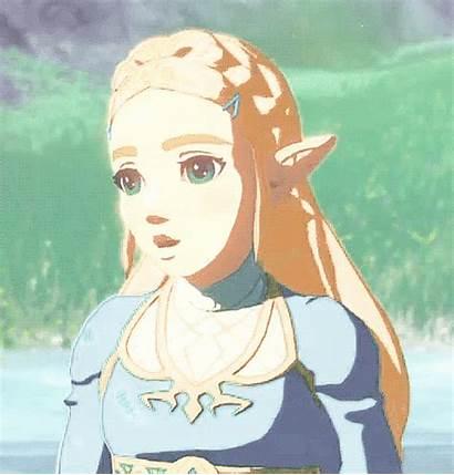 Princess Zelda Legend Breath Wild Gifs Botw