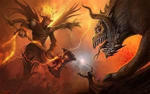 Demons And Angels Battle - wallpaper.