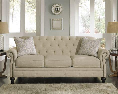 ashley furniture store sofas ashley furniture tufted sofa ashley alia tufted roll back