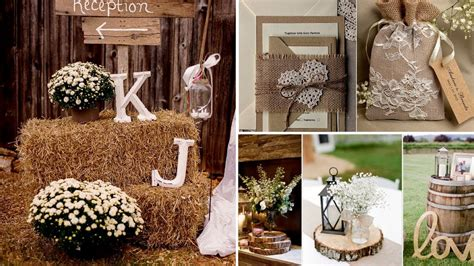 elegant rustic  barn chic party  wedding diy decor