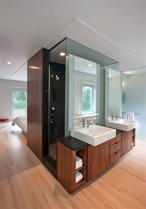 open plan shower 10 best images about open plan bedroom bathroom ideas on
