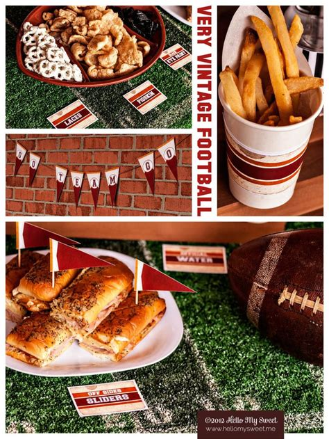 football food ideas pin by hello my sweet on football party ideas recipes decorations