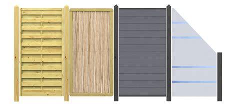 Garten Sichtschutz Holz Befestigen by Sichtschutzzaun Holz Befestigung Bvrao