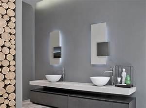 Miroir à Poser : miroir salle de bain lumineux et clairage indirect en 50 id es ~ Teatrodelosmanantiales.com Idées de Décoration