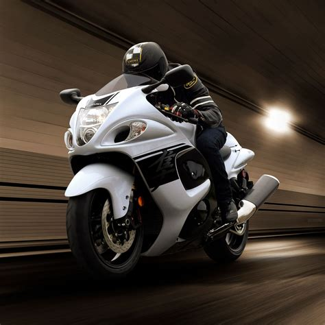 A sportbike, or sports bike, is a motorcycle optimized for speed, acceleration, braking, and cornering on paved roads, typically at the expense of comfort and fuel economy by comparison with other motorcycles. Suzuki Hayabusa Bike - Chelsea Motorcycles Group