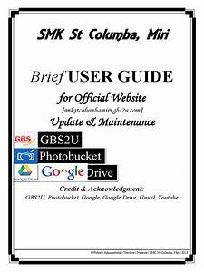 Brief User Guide For Smk St Columba Official Website Pdf