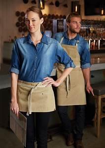 108 best images about Denim & Gingham Restaurant Uniform ...