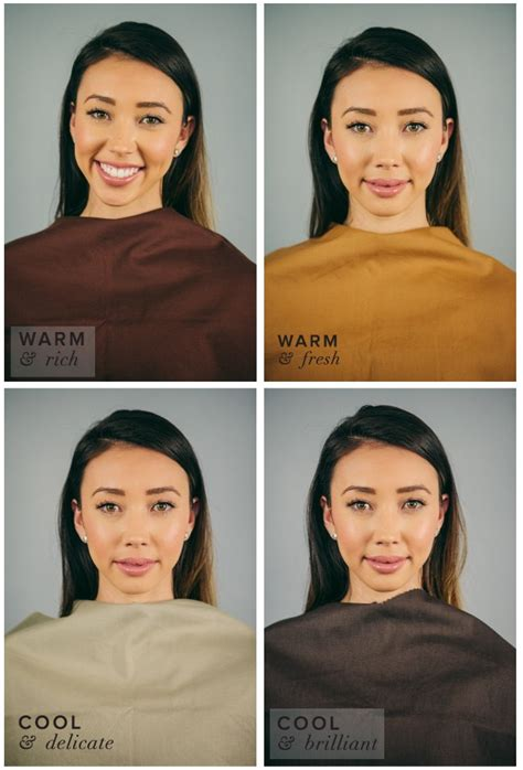 color draping seasons best worst colors for autumn seasonal color analysis