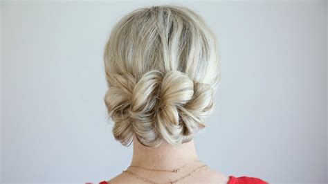 Pretty Updo Hairstyles by Pull Thru Updo Hairstyles