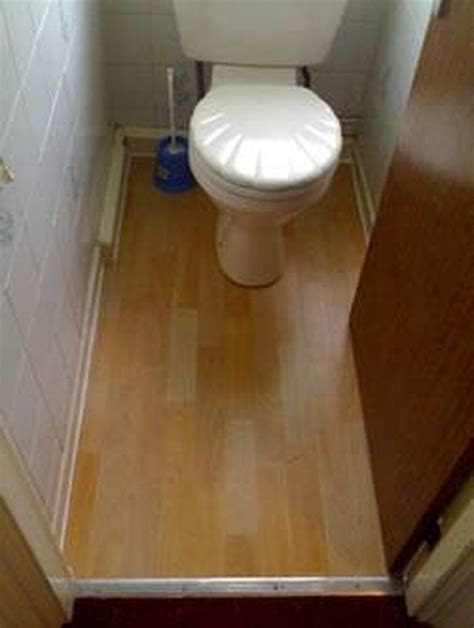lay laminate flooring   toilet hunker