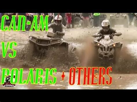 Can Am Meme - can am vs polaris and others mud bogging tall pines atv park youtube