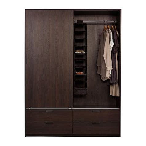 trysil wardrobe  sliding doors drawers ikea sliding