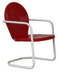 torrans mfg bellaire metal lawn chair