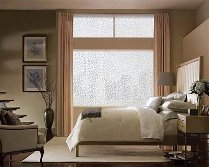 Bedroom Window Treatment Blind Drapery Blinds Windows