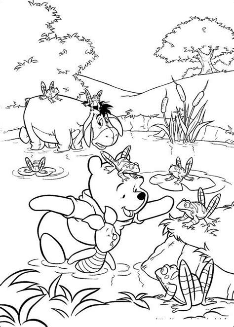 krafty kidz center winnie  pooh coloring pages