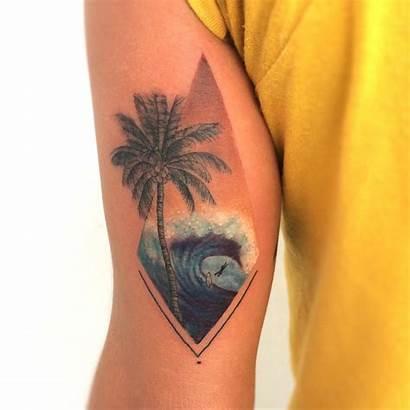 Palm Tattoo Tree Tattoos Tatuajes Playa Easy