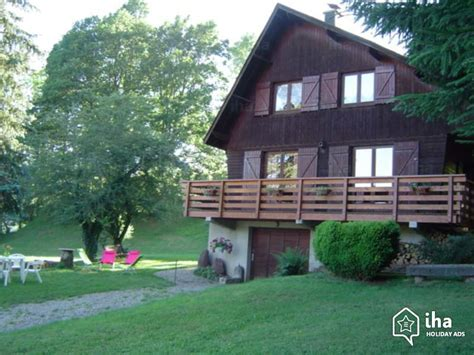 chalet for rent in chambon sur lac iha 74948