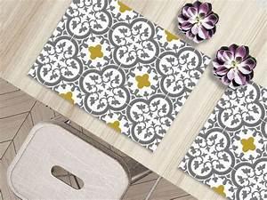 Set De Table Carreau De Ciment : carreaux de ciment 10 rev tements de sol imitation carreaux de ciment c t maison ~ Teatrodelosmanantiales.com Idées de Décoration