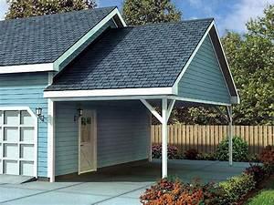 Woodwork House Plans Attached Carport PDF Plans