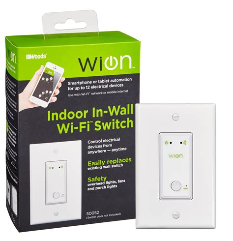 wion 50052 indoor wi fi in wall light switch wireless switch programmable timer ebay
