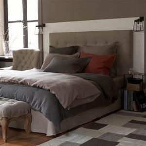 Tete De Lit 120 : t te de lit capitonn e selve hauteur 120 cm 3 tailles am ~ Melissatoandfro.com Idées de Décoration