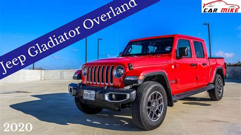 jeep gladiator overland review youtube