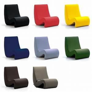 Stuhl Panton Chair : vitra amoebe lounge chair verner panton ~ Markanthonyermac.com Haus und Dekorationen