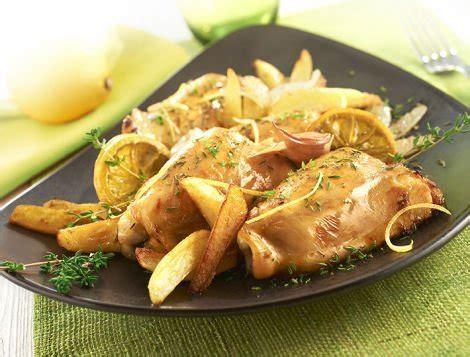 cuisiner les cuisses de poulet hauts de cuisse de poulet au citron recette maître coq