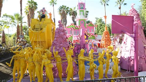 famous robolights  palm springs california curiosities