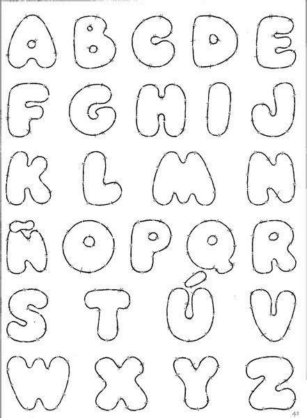 moldes de letra en foami imagui manualidades moldes de letras abecedario letras de